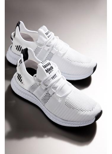 Tonny Black Beyaz Unısex Spor Ayakkabı Tbıdl Beyaz